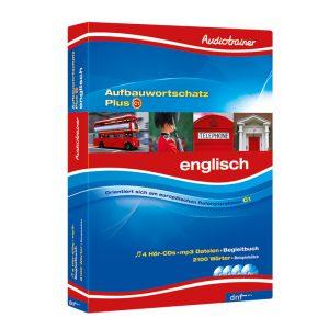 Audiotrainer Aufbauwortschatz Plus Englisch Auflage1 - Boxansicht