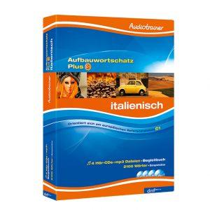 Audiotrainer Aufbauwortschatz Plus Italienisch Auflage1 - Boxansicht