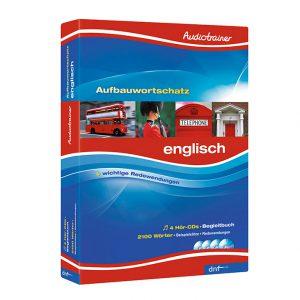 Audiotrainer Aufbauwortschatz Englisch Auflage 4 - Boxansicht
