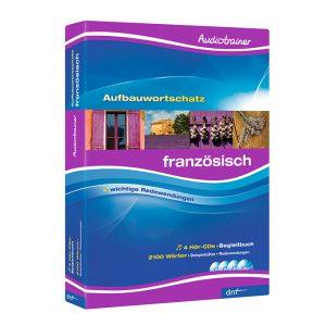 Audiotrainer Aufbauwortschatz Französisch Auflage 4 - Boxansicht