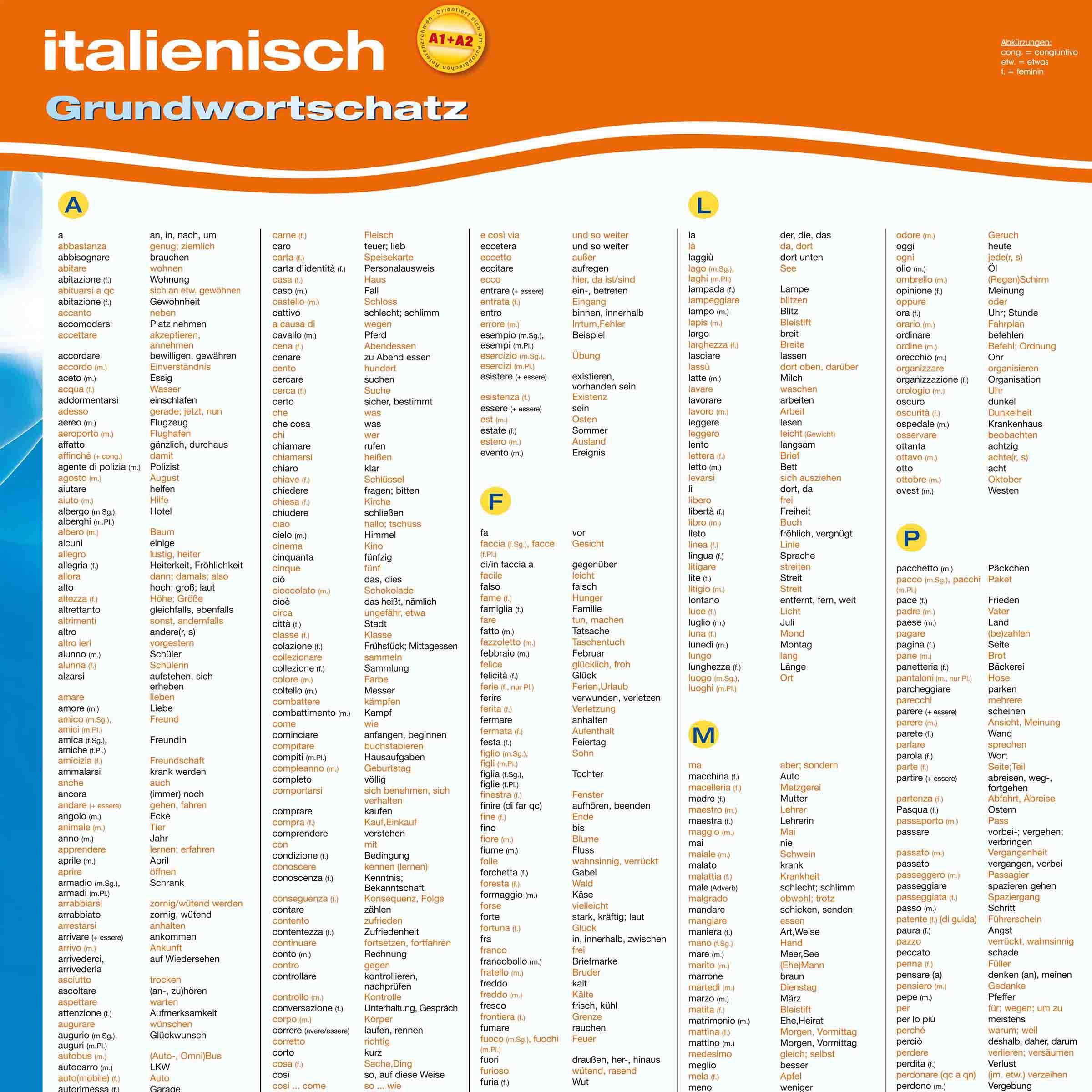 Bekanntschaft italienisch