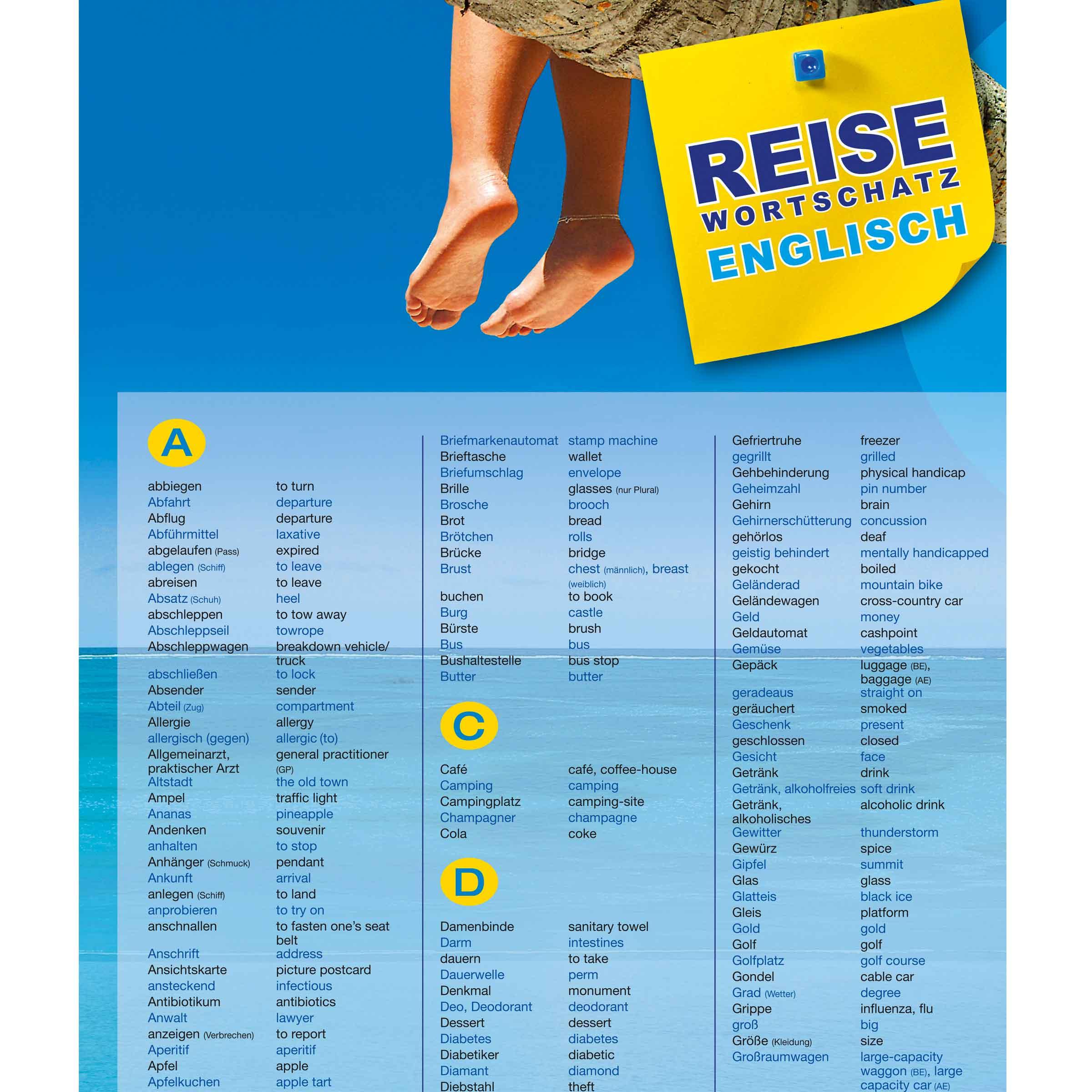 Multibox Reisewortschatz Englisch Dnf Verlag